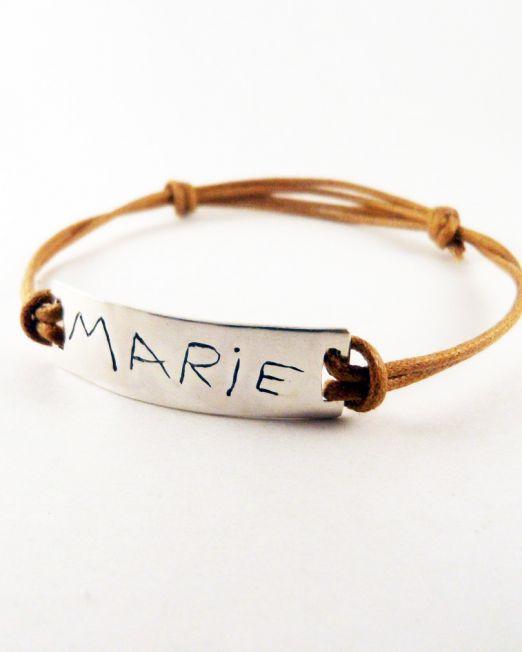 kids'art bijoux-braceletshommes-argent-5