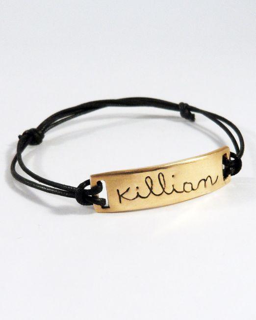 kids'art bijoux-braceletshommes-bronze-1