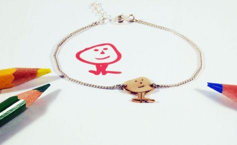 Léon le buisson – Women's bronze bracelet