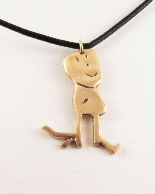 women, men and children necklace