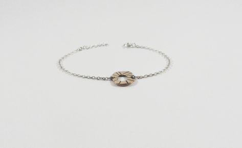 The sun – women bronze bracelet