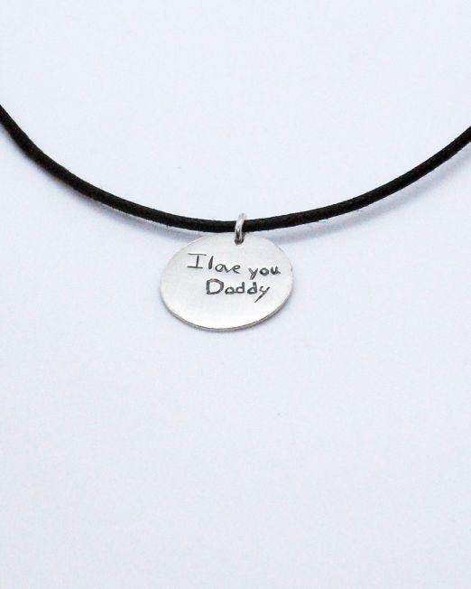 A souvenir for mom, dad